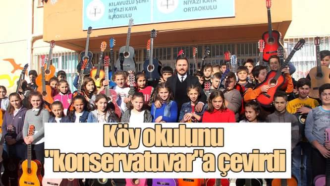 Samsun Haberleri: Köy Okulunu 'konservatuvar'a Çevirdi