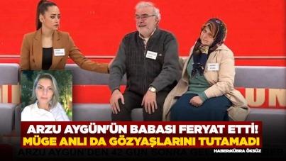 Arzu Aygün'ün babası feryat etti! Müge Anlı da gözyaşlarını tutamadı