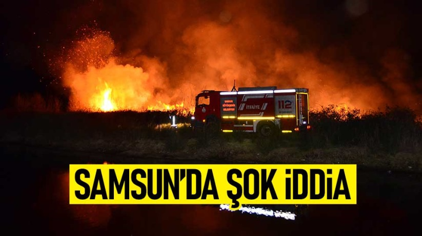 Samsun'da şok iddia