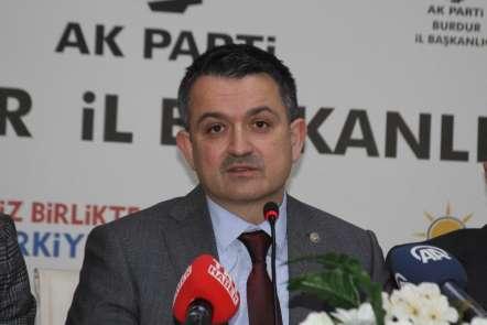 Bakan Pakdemirli: 'Böyle muhalefet olduğu sürece AK Parti'nin varlığı da ilelebe