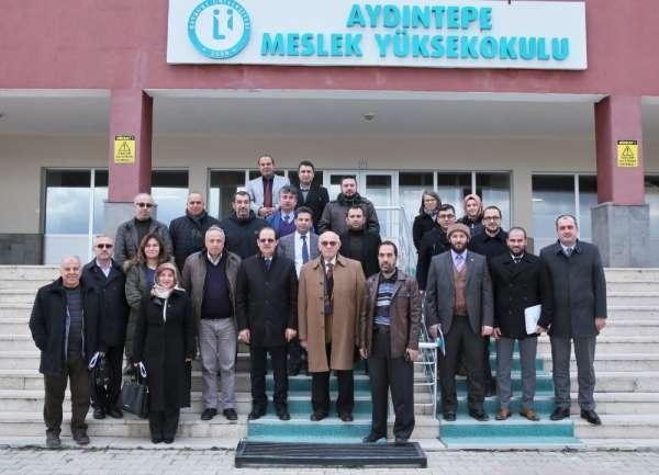 Bayburt Üniversitesi Senatosu Aydıntepe'de öğrencilerle buluştu
