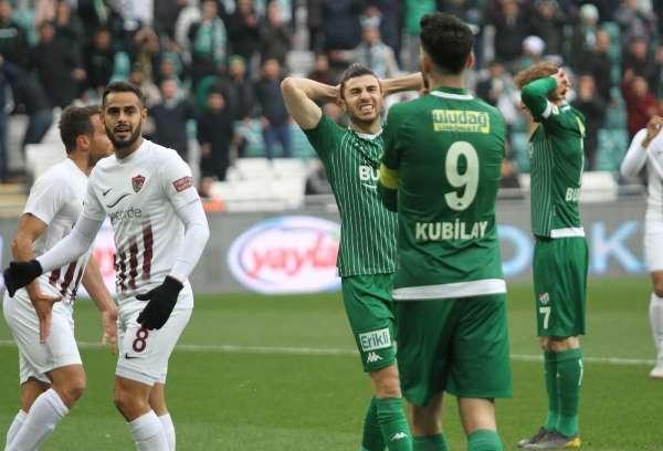 TFF 1. Lig: Bursaspor: 2 - Hatayspor: 1