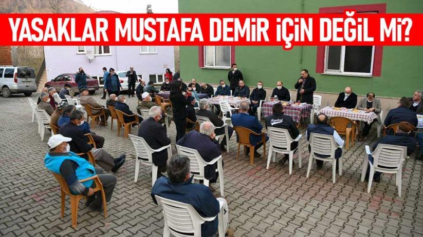 Yasaklar Mustafa Demir için değil mi?