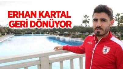 Erhan Kartal Samsunspor'a geri dönüyor