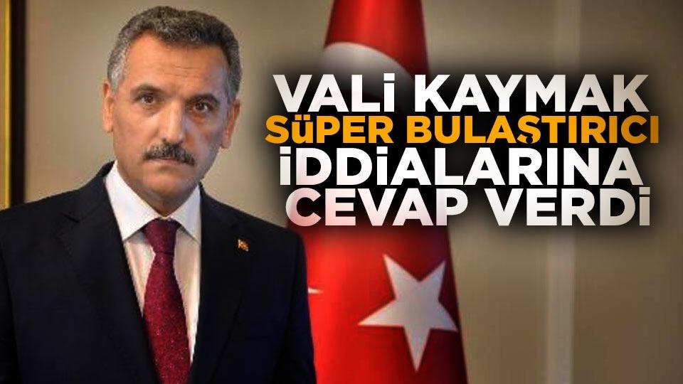 Samsun Valisi Osman Kaymak, bu iddianın asılsız olduğunu söyledi.