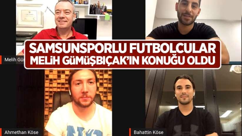 Samsunsporlu futbolcular Melih Gümüşbıçak'ın konuğu oldu