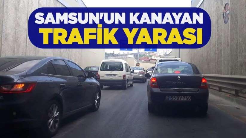 Samsun'un kanayan trafik yarası