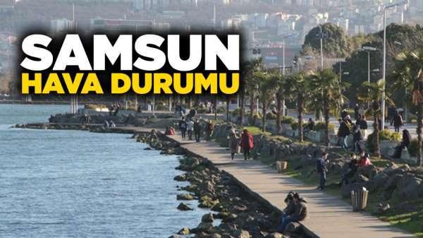 Samsun'da hava nasıl olacak? 28 Ağustos Çarşamba Samsun ve ilçeleri hava durumu