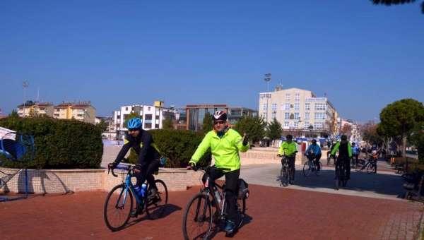 Didim'de bisiklet turları sürüyor