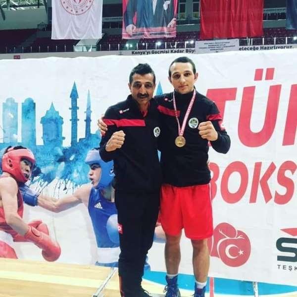 Milli boksör şampiyon oldu, gözü olimpiyatlara dikti