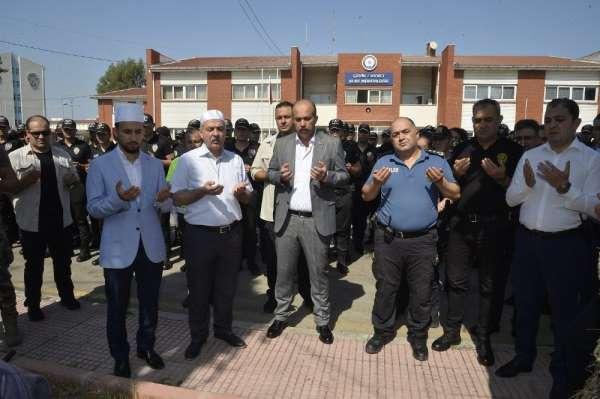 Polislerin kazadan ve beladan korunması için kurban kesildi
