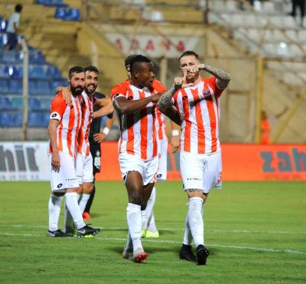 TFF 1. Lig: Adanaspor: 2 - Altay: 2 (İlk yarı sonucu)