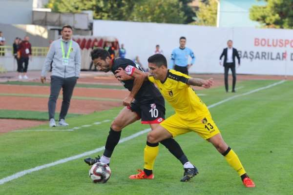 TFF 1. Lig: Boluspor: 1 - İstanbulspor: 2