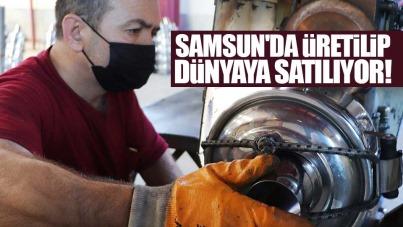 Samsun'da üretilip dünyaya satılıyor