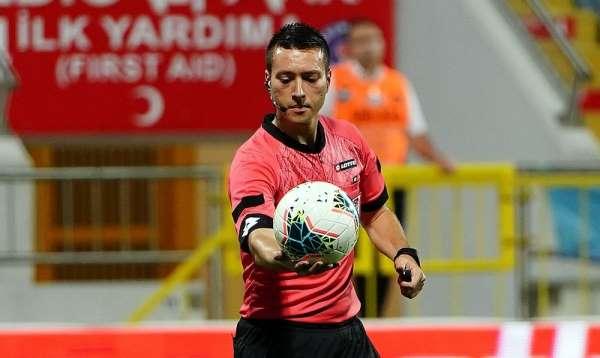Galatasaray-Kayserispor maçını Zorbay Küçük yönetecek