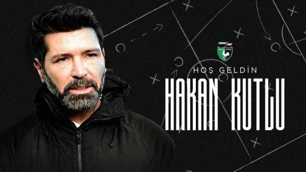 Denizlispor, teknik direktör Hakan Kutlu ile anlaşmaya vardı