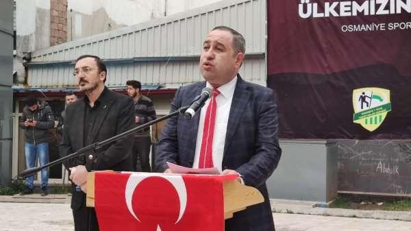 İdlib şehitleri için Osmaniye'de gıyabi cenaze namazı kılındı