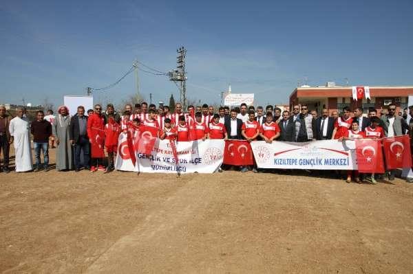 Köyler arası futbol turnuvası başladı
