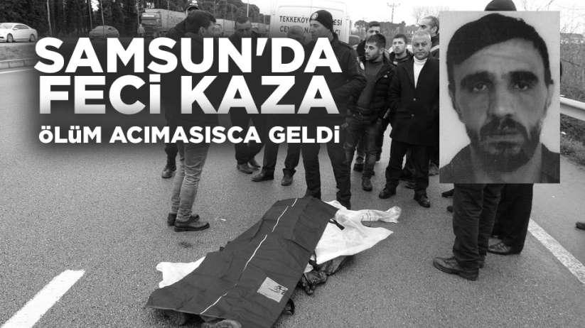 Samsun'da kaza! ölü ve yaralılar var