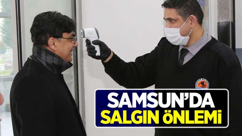 Samsun'da salgın önlemi