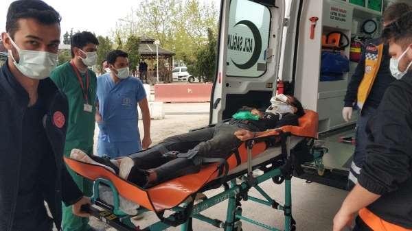 Samsunda parkta saldırıya uğrayan 17 yaşındaki genç hastanelik oldu
