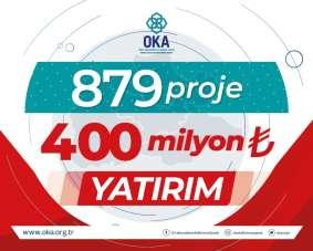 OKA, 'Orta Karadeniz'i kalkındırıyor
