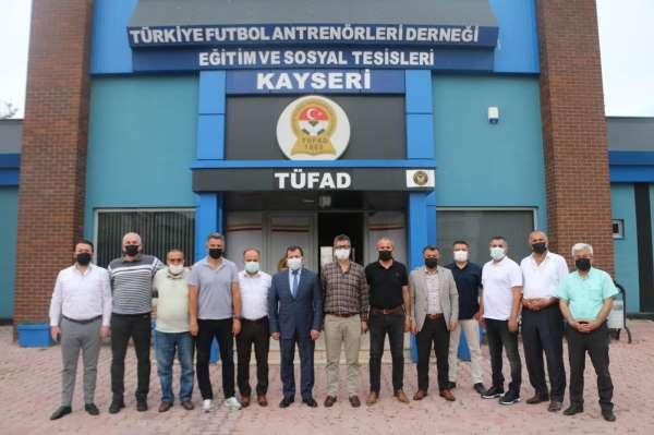 Ali İhsan Kabakcıdan TÜFADA ziyaret