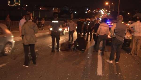 Arnavutköyde kaza: 1 kişi hayatını kaybetti