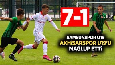 Samsunspor U19, Akhisarspor U19'u mağlup etti