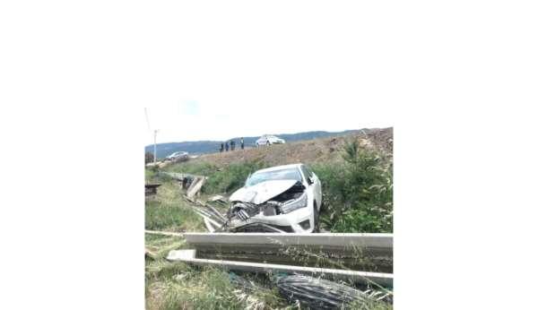 Başhekim Özyaşar trafik kazası geçirdi