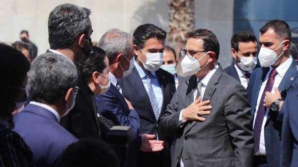 Enerji ve Tabii Kaynaklar Bakanı Dönmezden Vali Atike ziyaret
