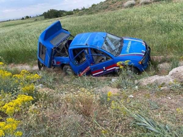 Kahramanmaraşta askeri araç kaza yaptı: 6 yaralı