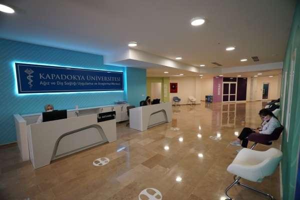Kapadokya Üniversitesi Ağız ve Diş Sağlığı Merkezi hizmete başladı