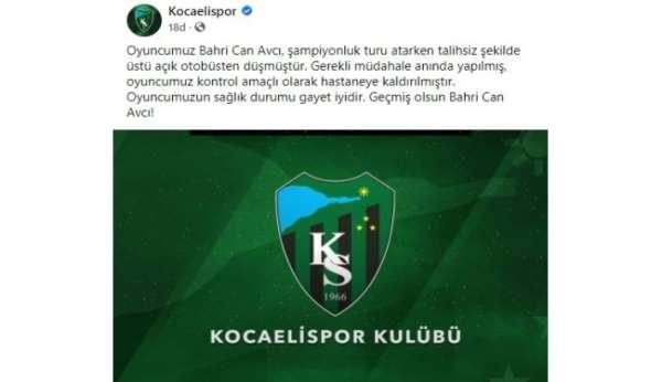 Kocaelispor şampiyonluk turunda iki futbolcu yaralandı
