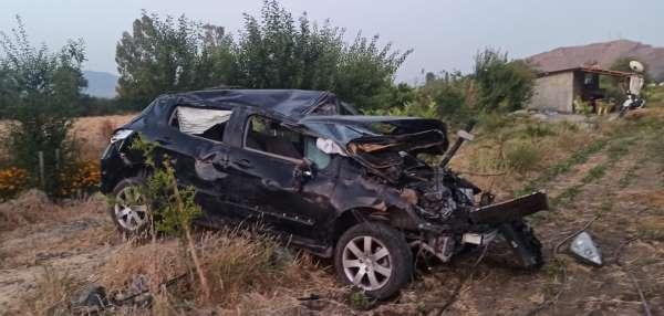 Ortacada trafik kazası: 1 ölü