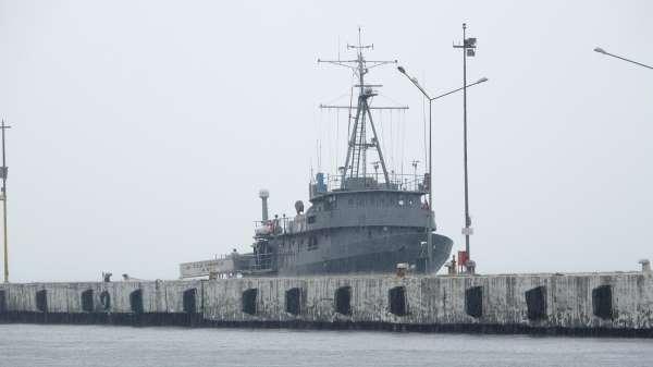 TCG Çubuklu araştırma gemisi Sinopta