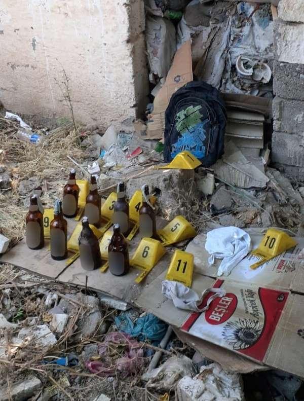 AK Parti binasına molotoflu saldırıda 6 gözaltı