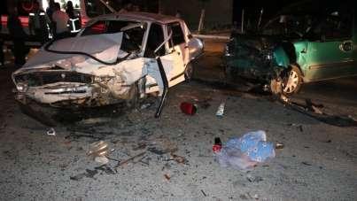 Aksaray'da trafik kazası: 2'si çocuk 7 yaralı