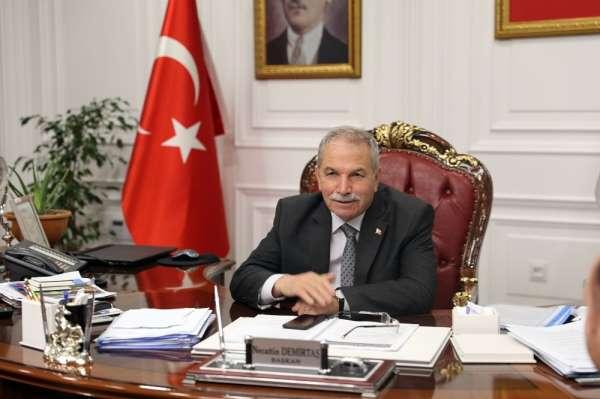 Başkan Demirtaş: 'Ortak sevdamız Samsunspor'a başarılar dilerim'