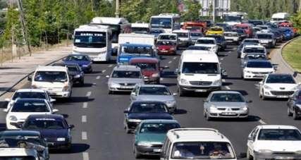Denizli'de araç sayısı 416 bin oldu