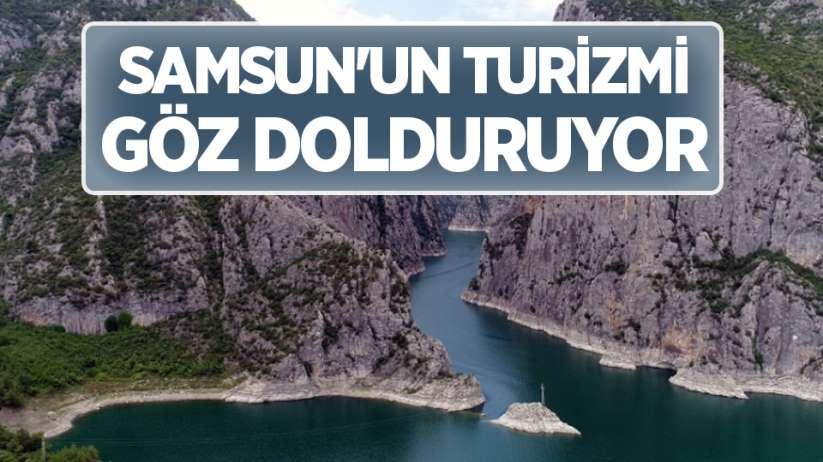 Samsun'un turizmi göz dolduruyor