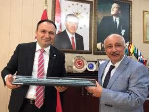 TCDD Genel Müdür Yardımcısı Kazancıoğlu raybüs için Batman'da
