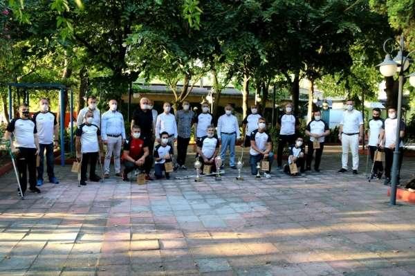 Türkiye Şampiyonu paravolley takımı altınla ödüllendirildi