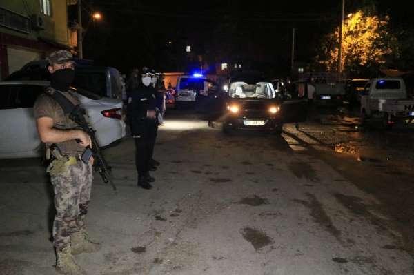 Adana'da drone destekli terör uygulaması