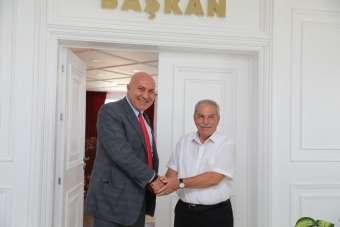Başkan Demirtaş, Samsunspor yöneticilerini kutladı