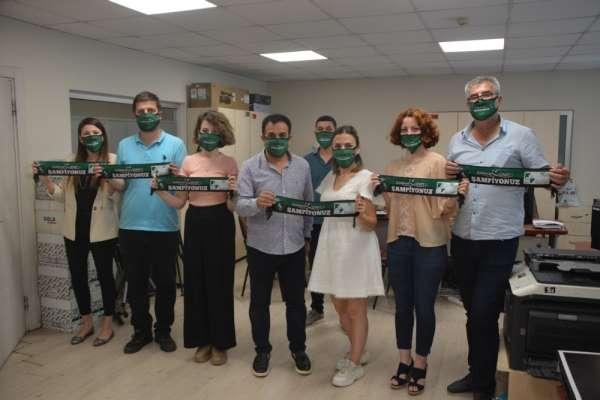 Başkan Hürriyet'ten personele Kocaelispor sürprizi