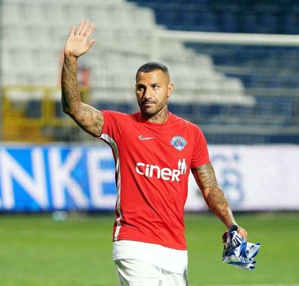 Kasımpaşa: 'Kulübümüze verdiği emekler için kaptanımız Ricardo Quaresma'ya teşek