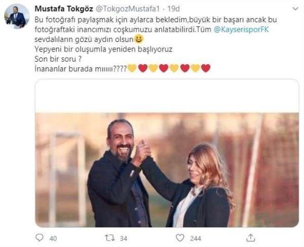 Kayserispor Basın Sözcüsü Tokgöz: 'Kayserispor sevdalıların gözü aydın olsun'
