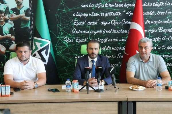 Sakaryaspor Başkanı Cumhur Genç: 'Bu şartlar altında biz aday olmayacağız'