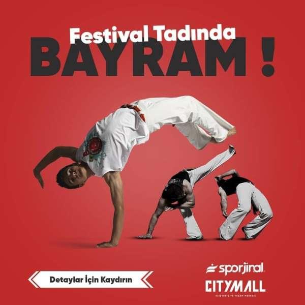 Samsun'da festival tadında bayram etkinlikleri